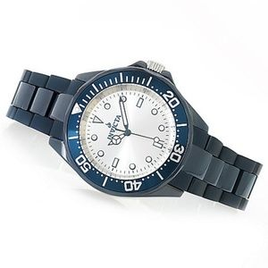 INVICTA Tritnite (glows in dark) Ceramic Quartz